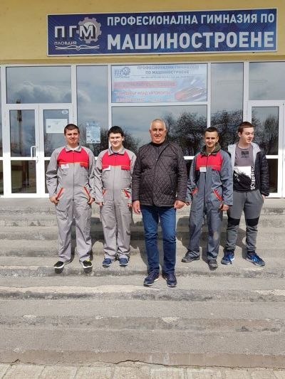 """Най-добър млад автомонтьор и водач на МПС"""" Регионален кръг - 14 - 15.03.2019г - Изображение 5"""