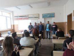 Erasmus+ - ПГМET Пазарджик