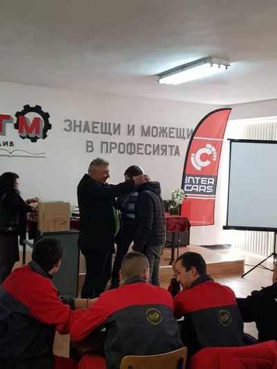 Най-добър млад автомонтьор - ПГМET Пазарджик